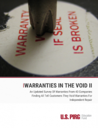 Cover of Warranties in the Void